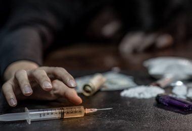 celebrities on heroin